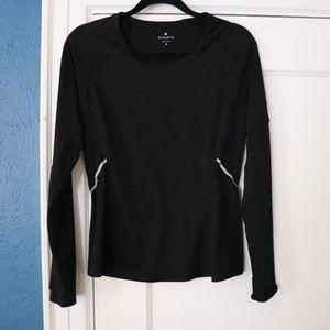 Athleta long sleeve running shirt